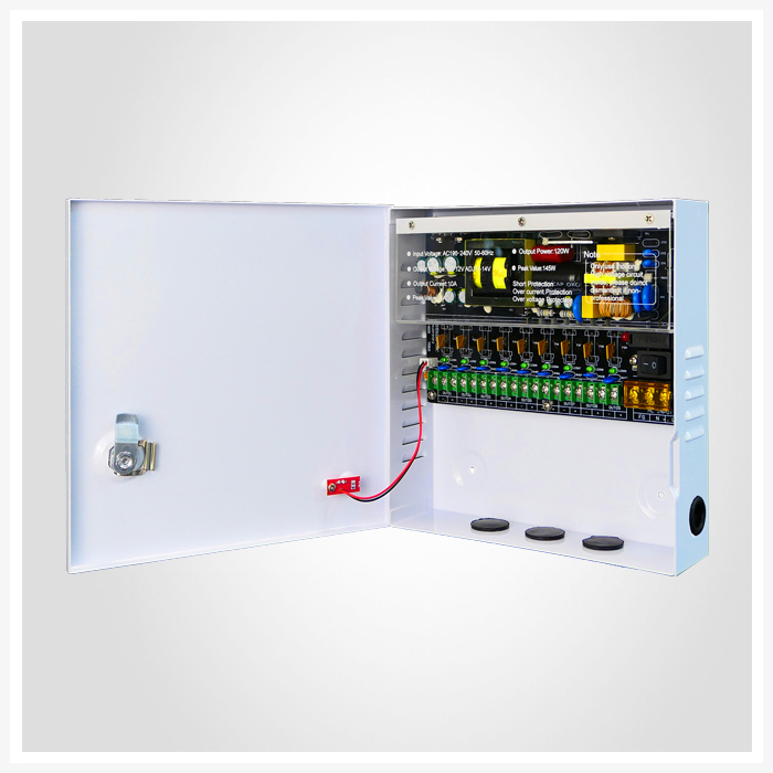 title='DC 12V 10A 9Outputs'
