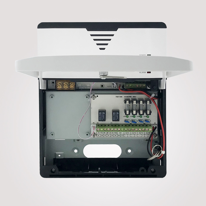 12V 5A 4CH Lithium UPS+Relay Alarm